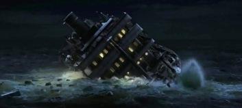 "Kapal ""Taiping"" mulai tenggelam ke laut"
