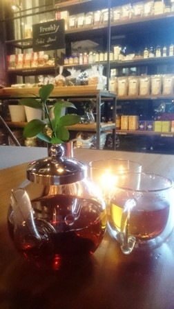 French Vanilla Hot Tea